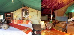 Satao Camp - Bedroom