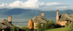 Ngorongoro Crater Lodge - View