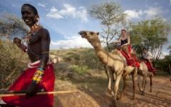 Camel Riding in Kenya
